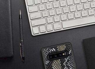 Skórzane etui Samsung Galaxy S10
